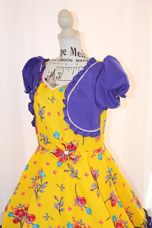 Vestido Floreado morado