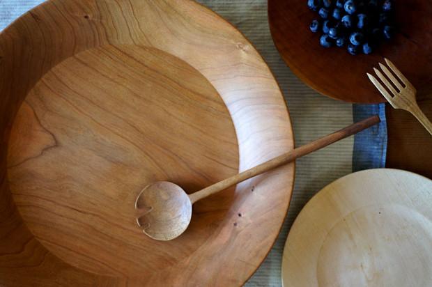 木の器と道具展in百時