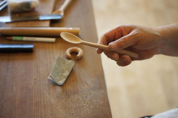 彫り彫り…木工教室