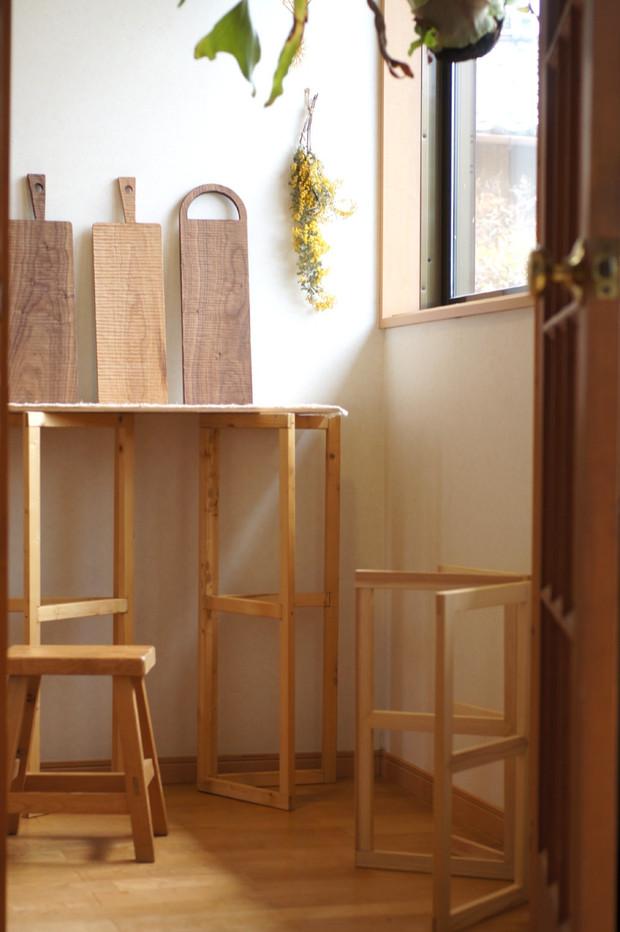 玄関のミニスタジオ