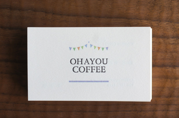 OHAYOU COFFEEさんの名刺