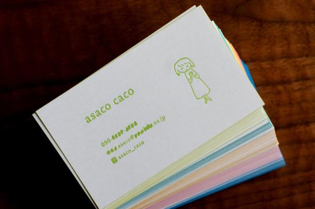 asacoさんの名刺