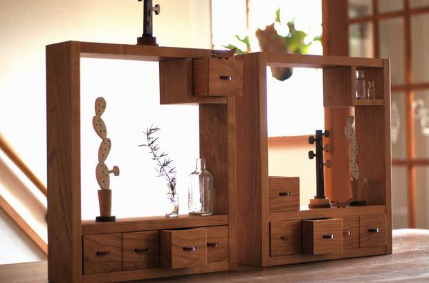 小さな飾り棚