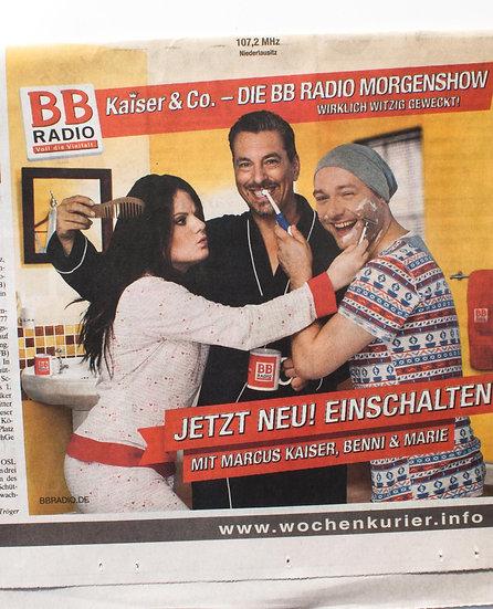 BB Radio - Anzeige