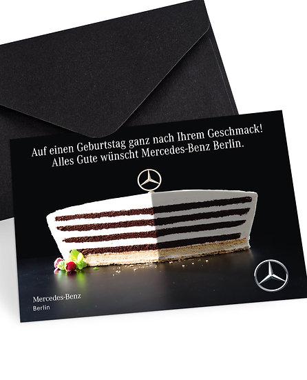 Mercedes-Benz Berlin - Geburtstagskarte