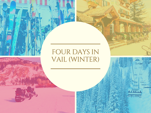 Curate Guide to Vail (Winter)
