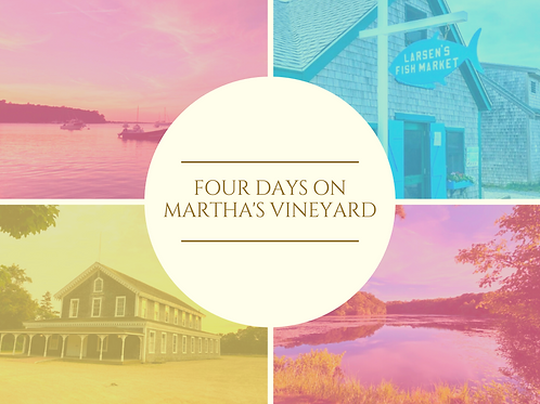 Curated Guide to Martha's Vineyard