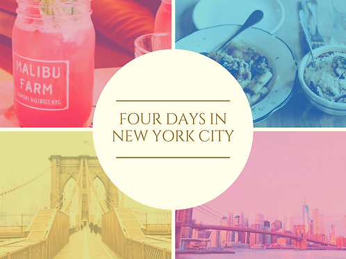 Curated Guide to New York City