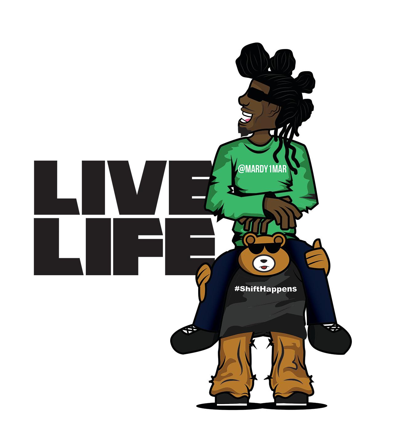 Mardymar live life