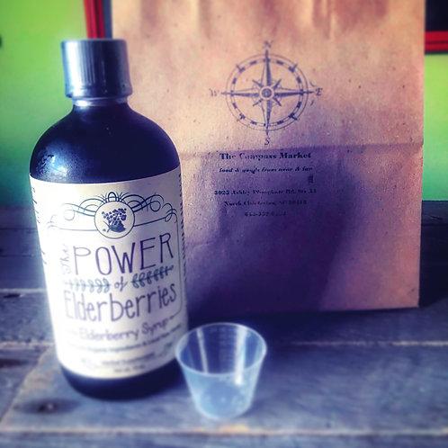 The Power of Elderberries Elderberry Syrup