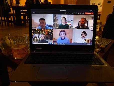 Virtual welcome aperitif