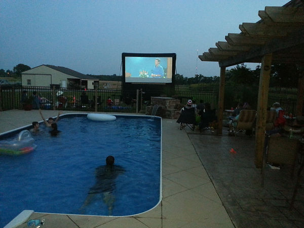 FADDS outdoor movie