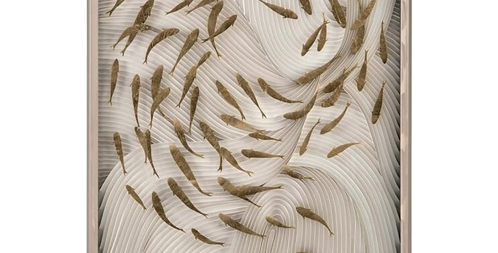 WALL ART FISH DESIGN