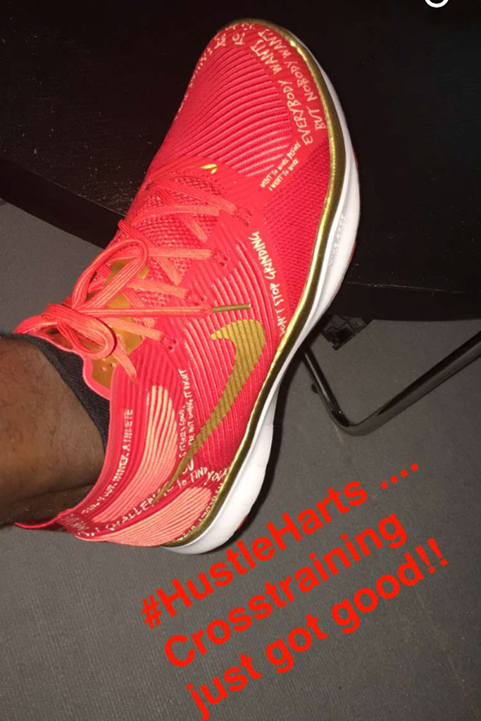 68fe63cc4e68 Kevin Hart s NIKE Sneaker Is No Joke