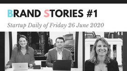 Startup Daily of Friday 26 June 2020 Interviewed the Founder and CEO of eBottli Nathalie TAQUET