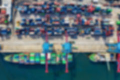 Canva - Birds-eye View Photo of Freight