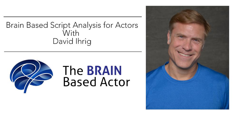 Brain Based Script Analysis for Actors