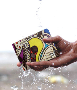 Water resistant Fold Wallet