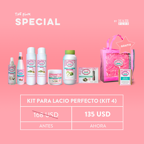 Kit Para Lacio Perfecto (kit 4)