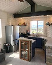 Kitchen #bigskytinyhome #barnwood #monta