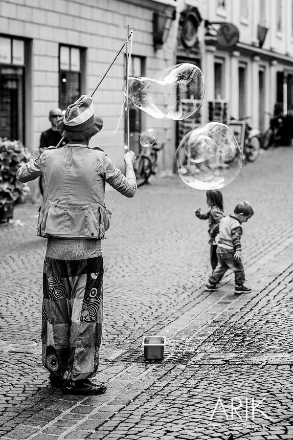 Der Seifenblasenmann