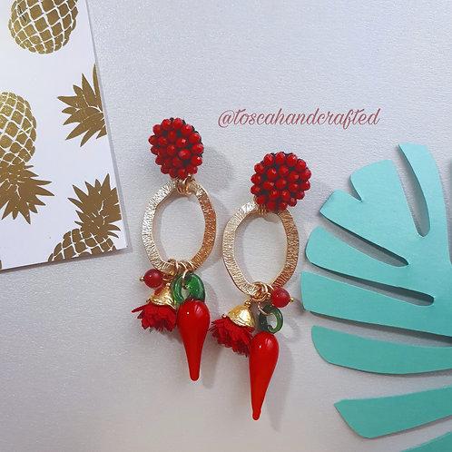 Chili Earrings