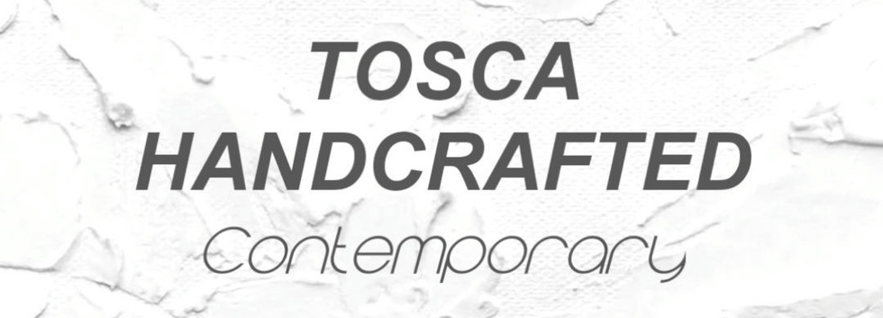 Launching our new line, Tosca Handcrafted Contemporary.