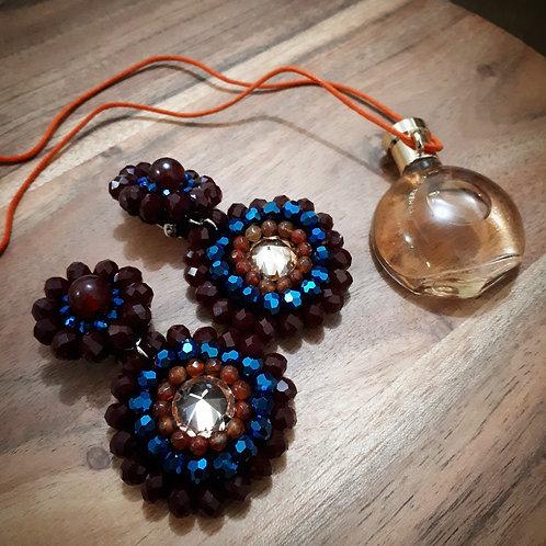 Thespian Earrings (Morocco)
