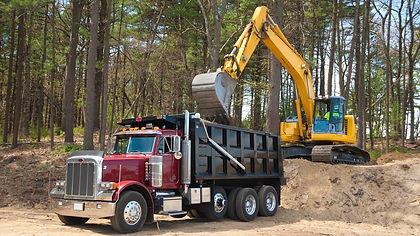 Dump truck getting loaded.jpg