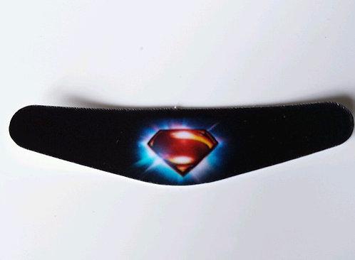 autocollant light bar pour témoin lumineux manette ps4 superman