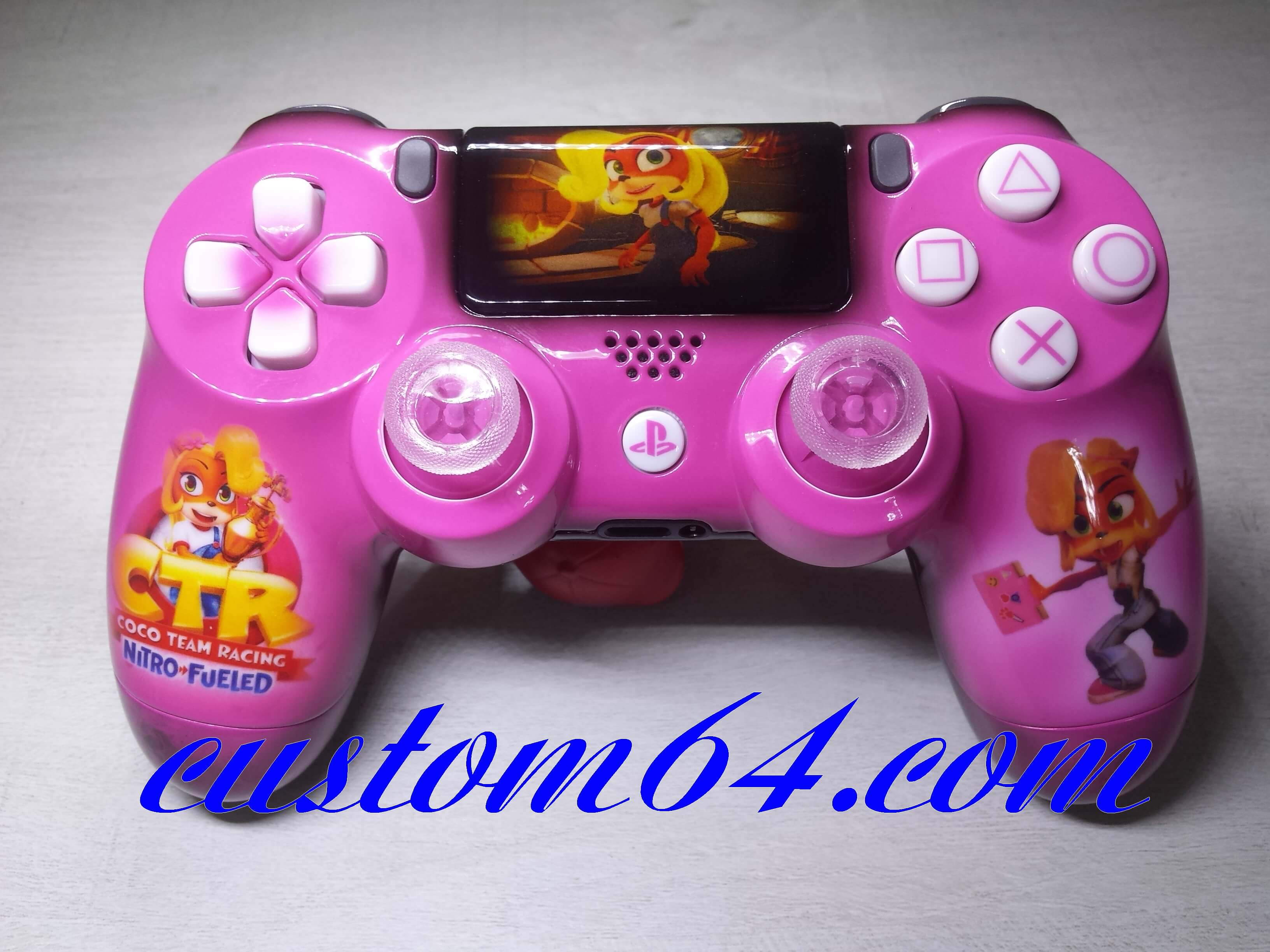 manette ps4 coco team racing