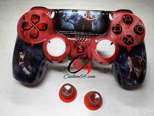 Coque Manette PS4 Resident evil 2
