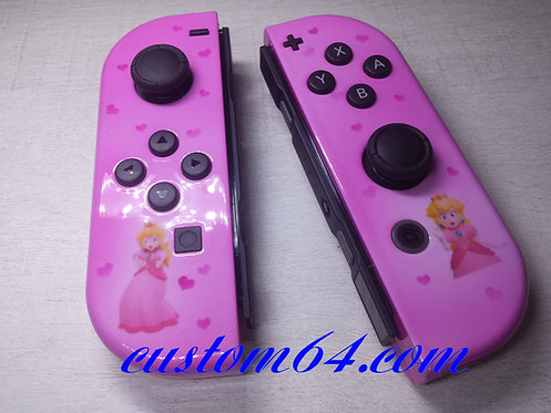 Joy-con Nintendo switch princesse-peach