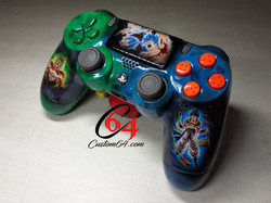 manette ps4 dragon ball z