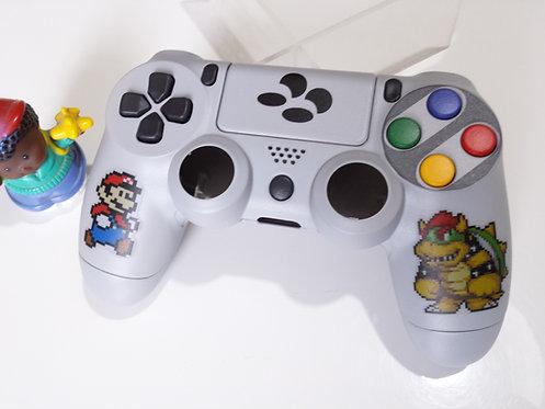 Coque Manette PS4 Custom à l'aérographe !!! Dualshock 4 Sixaxis nintendo !