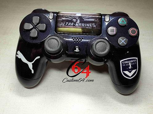 Manette PS4 sony Custom FC Girondins de Bordeaux