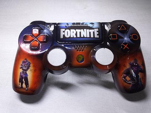 Coque Manette PS4 Custom à l'aérographe !!! Dualshock 4 Sixaxis ! Fortnite