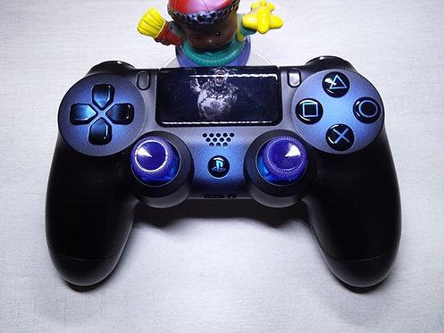 Manette PS4 Custom à l'aérographe !!! Dualshock 4 Sixaxis black blue