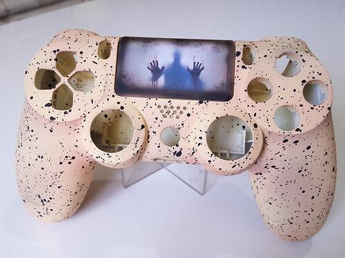 Coque Manette PS4 Custom human mat