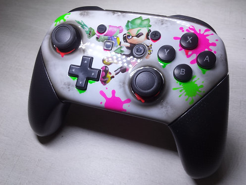 Manette Nintendo pro switch splatoon 2