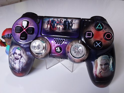 Manette PS4 Custom Suicide Squad