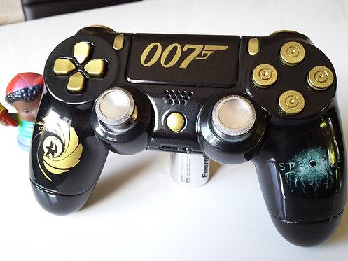 Manette PS4 Custom à l'aérographe !!! Dualshock 4 Sixaxis 007