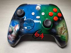 custom xbox one x dragon ball z