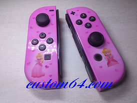 joy-con nintendo custom princesse peach