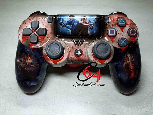 Manette PS4 sony Custom Resident Evil 2