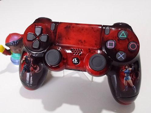 Manette PS4 Custom à l'aérographe !!! Dualshock 4 Sixaxis Tekken 7