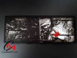 faceplate ps4 ghost of tsushima