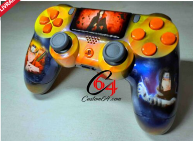 2 coque ps4 perso client
