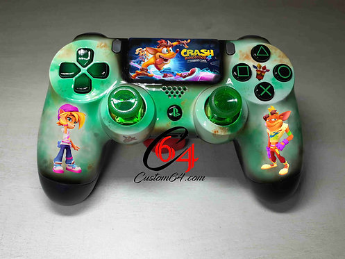 Manette PS4 Custom crash bandicoot