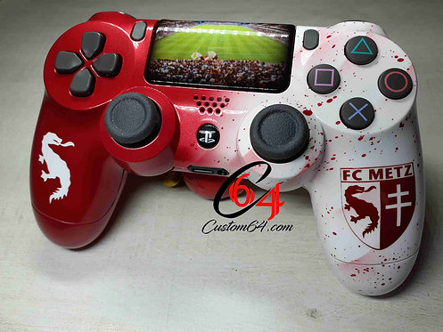 Manette PS4 sony Custom FC Metz